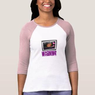 Crazy cavy lady warning T-Shirt