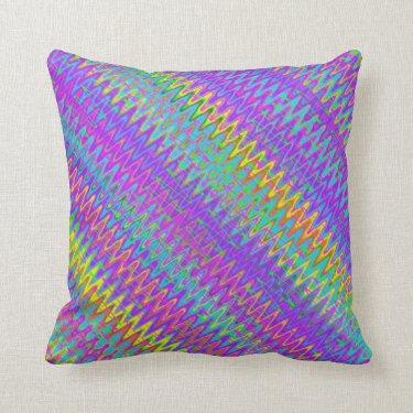 Crazy Chevron Diagonal Pillows