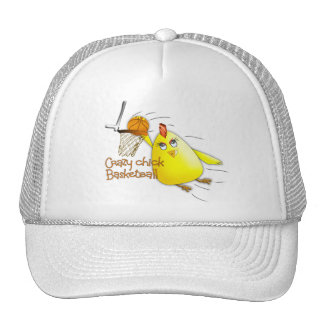 (Crazy Chick Basketball) Trucker Hat
