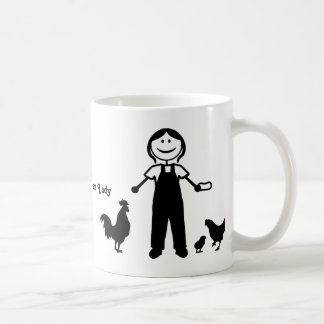 Crazy Chicken Lady Coffee Mug