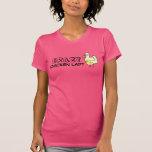 Crazy Chicken Lady Tee Shirts