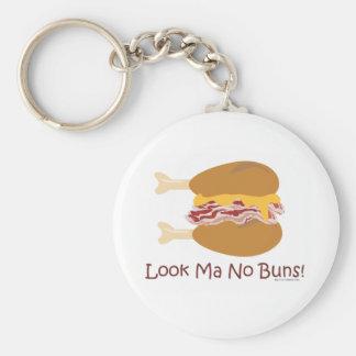 Crazy Chicken Sandwich Keychain