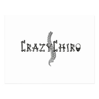 Crazy Chiro - Revolution in Chiropractic Postcard