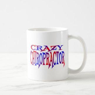 Crazy Chiropractor Classic White Coffee Mug