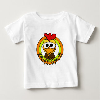 Crazy Chuck Chicken Head Baby T-Shirt