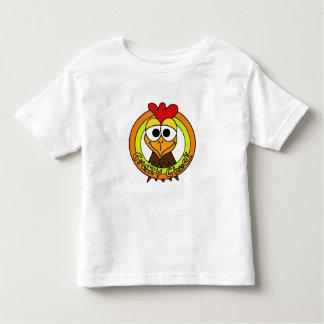 Crazy Chuck Chicken Head Toddler T-shirt