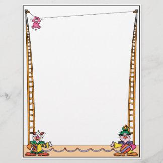 Crazy Circus Letterhead