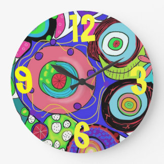 Crazy clock by Cindy Ginter