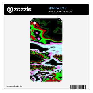 Crazy Clouds Skin For iPhone 4