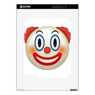 Crazy Clown Emoji iPad 2 Decal