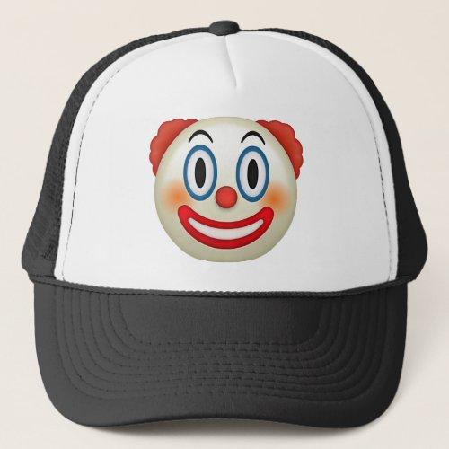 Crazy Clown Emoji Trucker Hat