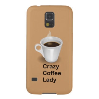 Crazy Coffee Lady Case For Galaxy S5