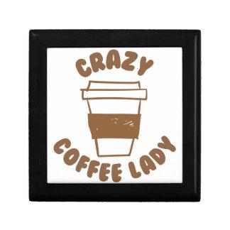 crazy coffee lady jewelry box