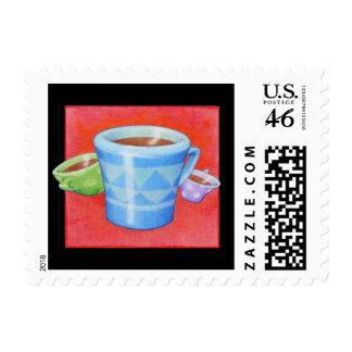 Crazy Coffee mugs black Stamp