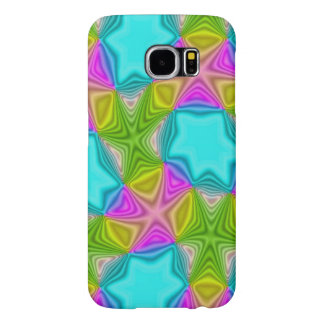 Crazy Color Pattern Samsung Galaxy S6 Case