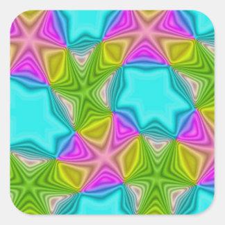 Crazy Color Pattern Sticker