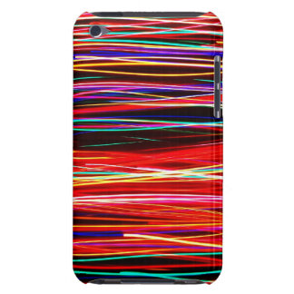Crazy Colorful Lights Barely There iPod Cases