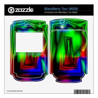 Crazy Colorful BlackBerry Skin