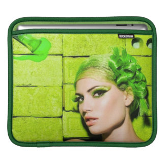 crazy_colors_1 Green Fashion Model beauty style Sleeves For iPads