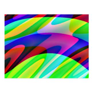 Crazy Colors 2 Postcard