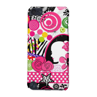 Crazy colors collage iPod touch (5th generation) case