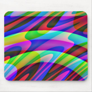 Crazy Colors Mouse Pad