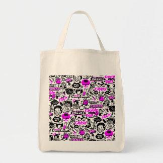 Crazy  Combo Tote Bag