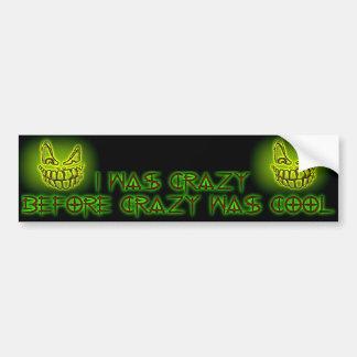 Crazy Cool Bumper Sticker