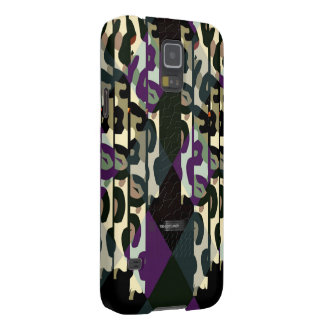 Crazy Cool Cheetah Triangle Pattern Case For Galaxy S5