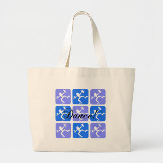 Crazy cool dance tote bags