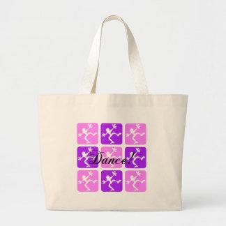 Crazy cool dance canvas bag