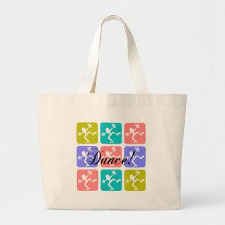 Crazy cool dance canvas bags