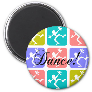 Crazy cool dance magnet