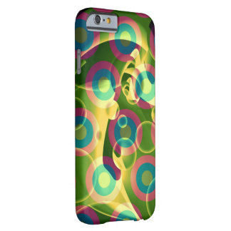 Crazy Cool Psychedelic Rainbow Abstract Barely There iPhone 6 Case