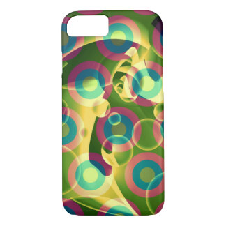 Crazy Cool Psychedelic Rainbow Abstract iPhone 7 Case