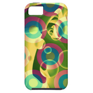 Crazy Cool Psychedelic Rainbow Abstract iPhone SE/5/5s Case