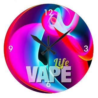 Crazy Cool Vape Cloud Large Clock