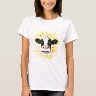 Crazy Cow Face T-Shirt