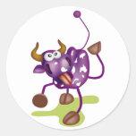 Crazy Cow Sticker