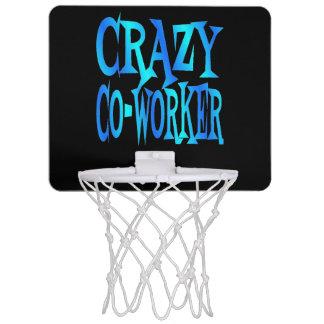 Crazy CoWorker Mini Basketball Hoops