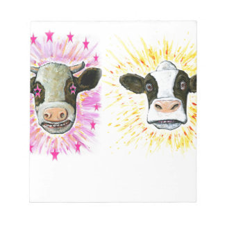 Crazy Cows Notepad