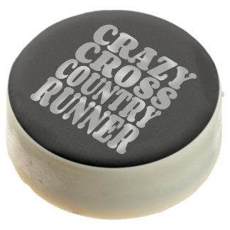 Crazy Cross Country Runner in Silver Chocolate Covered Oreo
