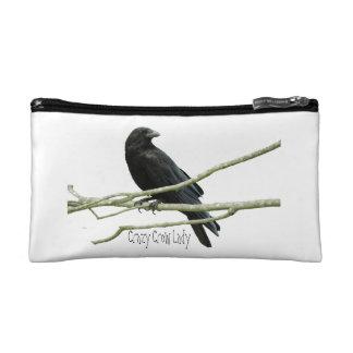 Crazy Crow Lady Cosmetics Bag