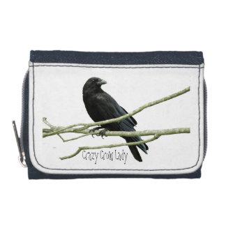 Crazy Crow Lady Wallet