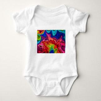 crazy crunchy rainbow design infant creeper