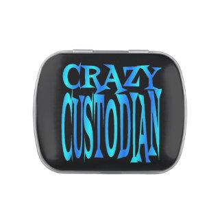 Crazy Custodian Candy Tin