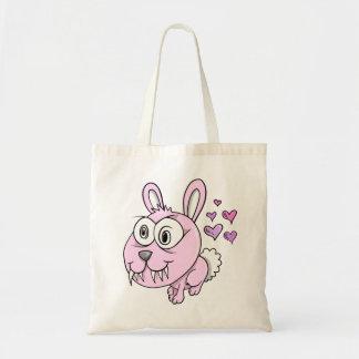 Crazy Cute Insane Love Bunny Rabbit  Bag