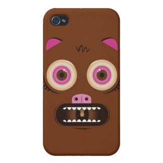 Crazy cute monster iPhone 4/4S cases