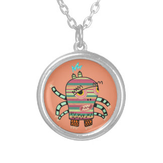 Crazy Cute Six-Armed Panic Monster Necklace