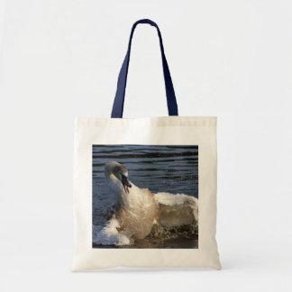 Crazy Cygnet Canvas Bag